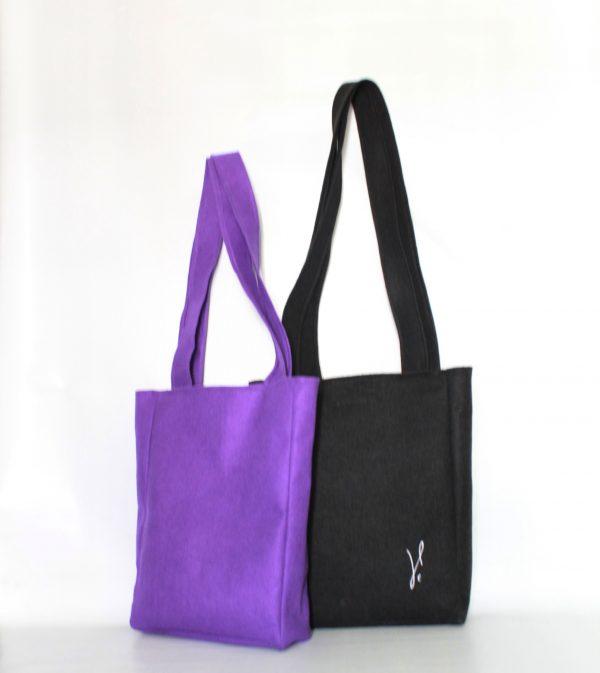 Vbag purple&black
